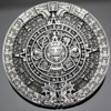 New 2017 Fashion Men Antique Gold Silver Aztec Mayan Indian Detailed Calendar Mask Western Belt Buckle Cosplay Jewelry