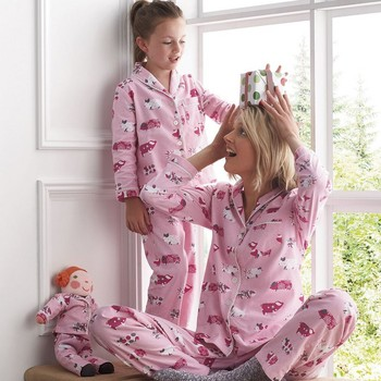 Family Pajamas Christmas Family Set Mother Daughter Matching Sleepwear Clothes Family Christmas Pajamas Family Clothing Sets ST pajamas