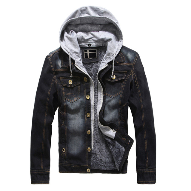 2019 New Jean Jackets Men Autumn Winter Hot Sale Casual Style Top