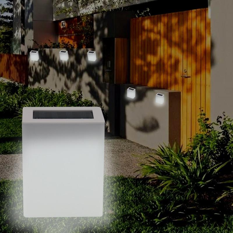 Solar Lamp Outdoor Wall Lamps Solar Led Garden Light Waterproof Outdoor Lamp For Garden Courtyard Home Corridor Door Lighting