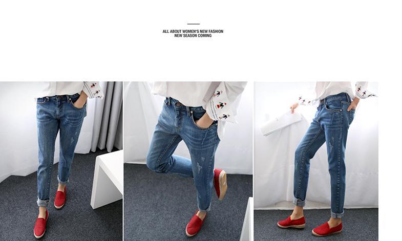 17 New Fashion Autumn Style Women Jeans Elastic Harem Denim Pants Jeans Slim Vintage Boyfriend Jeans for Women Female Trousers 13