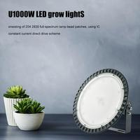 1000W LED Grow Light Full Spectrum Plant Light IR UV Hydroponic Hydro Plant Growing Lamps For Indoor Greenhouse Grow Tent Plant