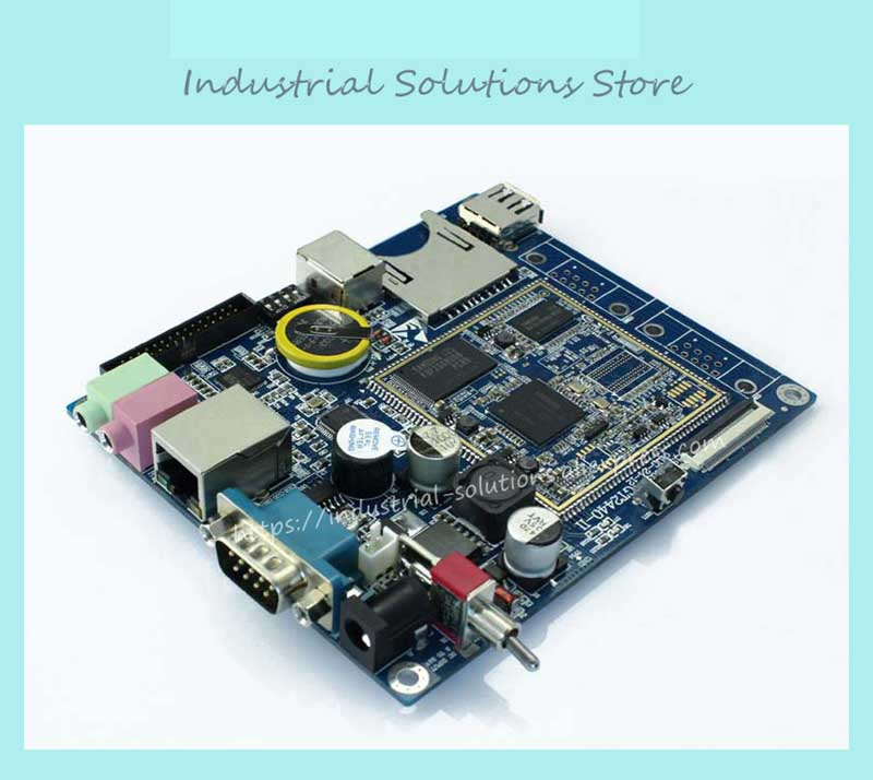 IPC Board Industrial MOTHERBOARD ARM9 Development Board Embedded Motherboard 6410 100% tested perfect quality mini itx motherboard embedded industrial motherboard epia m830 ultra thin dual channel lvds 100% tested perfect quality