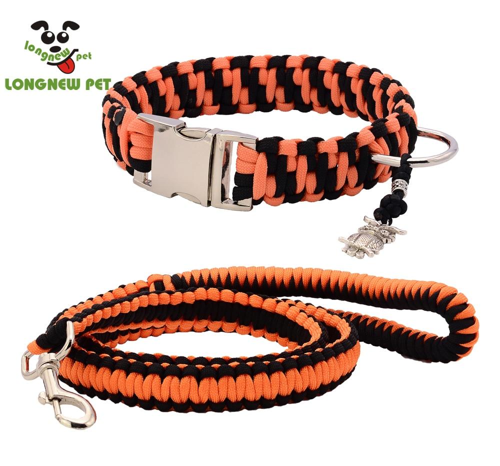Cord Dog Collar