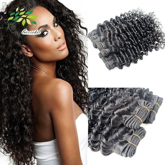 4pcs Lot Malaysian Curly Hair Weave 100 Human Hair Extension 8 30