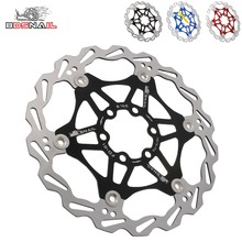 2pcs Bicycle brake Disc Rotor 160mm adapter Mountain Bike MTB DH 6 inch Float Floating Disc Brake Rotor Cycling Rotor цены онлайн