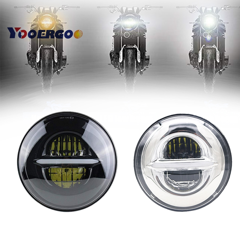 5.75 Inch LED Headlight For Harley Street 500 XG500 Iron 883 Low XL883 Dyna Sportsters V-Rod Night Rod FLSTSE 5 3/4