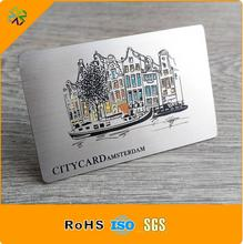 2018 factory price etched stainless steel playing cards,stainless steel business cards,stainless steel metal card