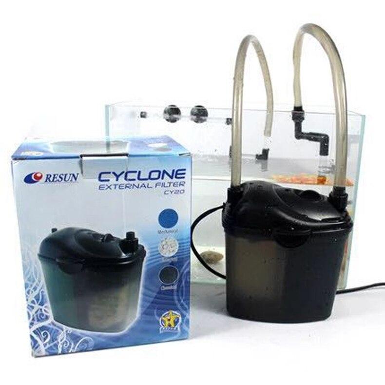 Resun CY 20 150L/H Mini Aquarium Super silencieux poisson eau douce récif marin réservoir de corail cartouche filtrante-in Filtres et accessoires from Maison & Animalerie    1
