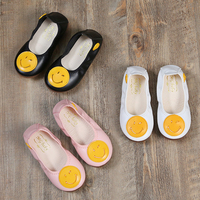 Autumn Children Dance Shoes Cute Flat Girl Toddler Casual Wedding Shoes For Kids White Dress Shoes