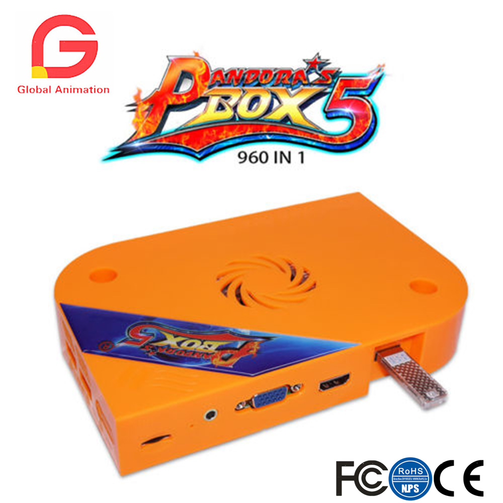 Pandora Box 5 960 in 1 Jamma Arcade Version Multi Game Board VGA & HDMI Output pandora box 5 960 in 1 arcade version jamma version orange multi game board hdmi vga output hd 720p jamma board arcade machine