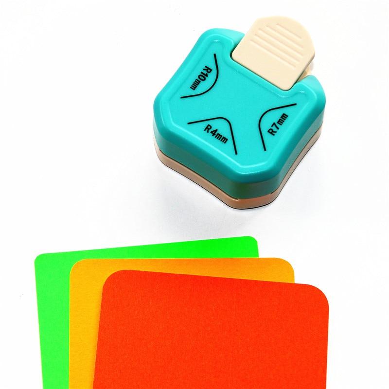 ¡Novedad! punzón de esquina redondeado de 4mm, 7mm, 10mm, punzón de esquina para álbum de recortes para artesanías hechas a mano DIY