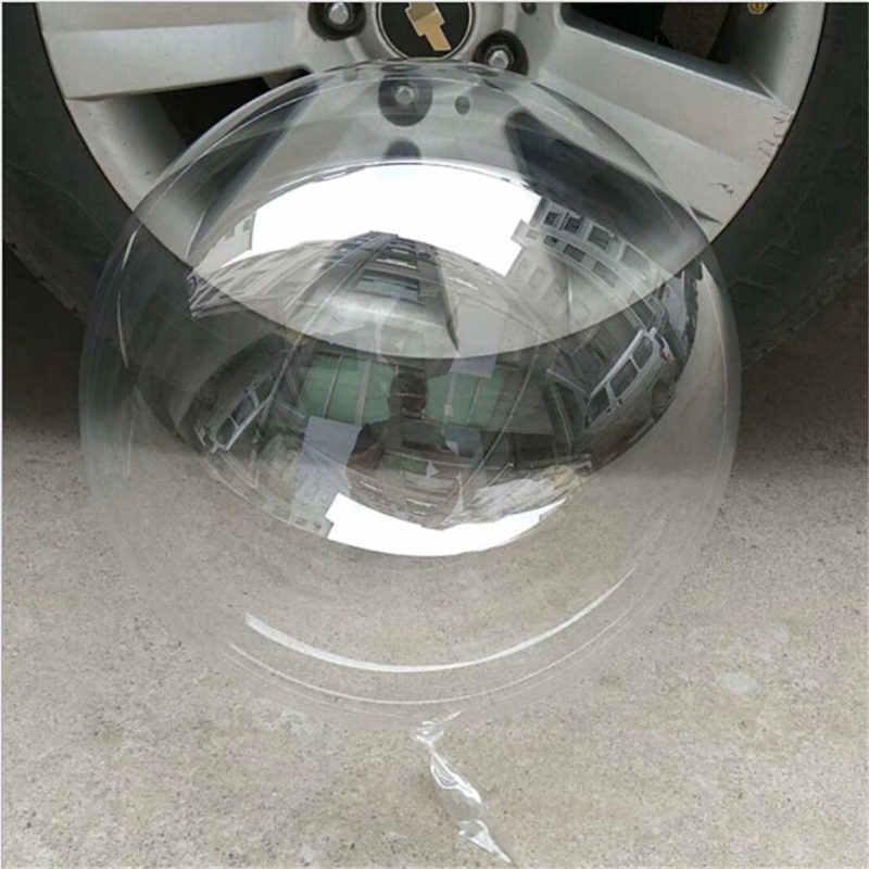 10/20/24/36 אינץ בועת אין קמטים ברור PVC שקוף בלוני globos יום הולדת מסיבת חתונת אירועים עיצוב הבית