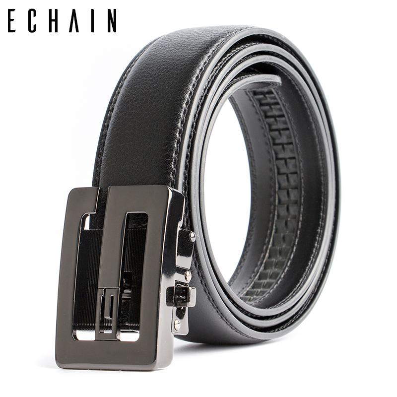 ECHAIN Business Luxury Designer Double G Belts Men High Quality Male  Genuine Real Leather Waist Strap a7ba2135a5c