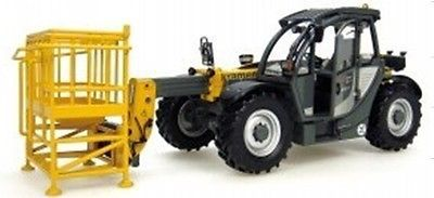 ФОТО Kramer 3307 Manlift w/Working Platform 1:32 Die-Cast Universal Hobbies UH8069