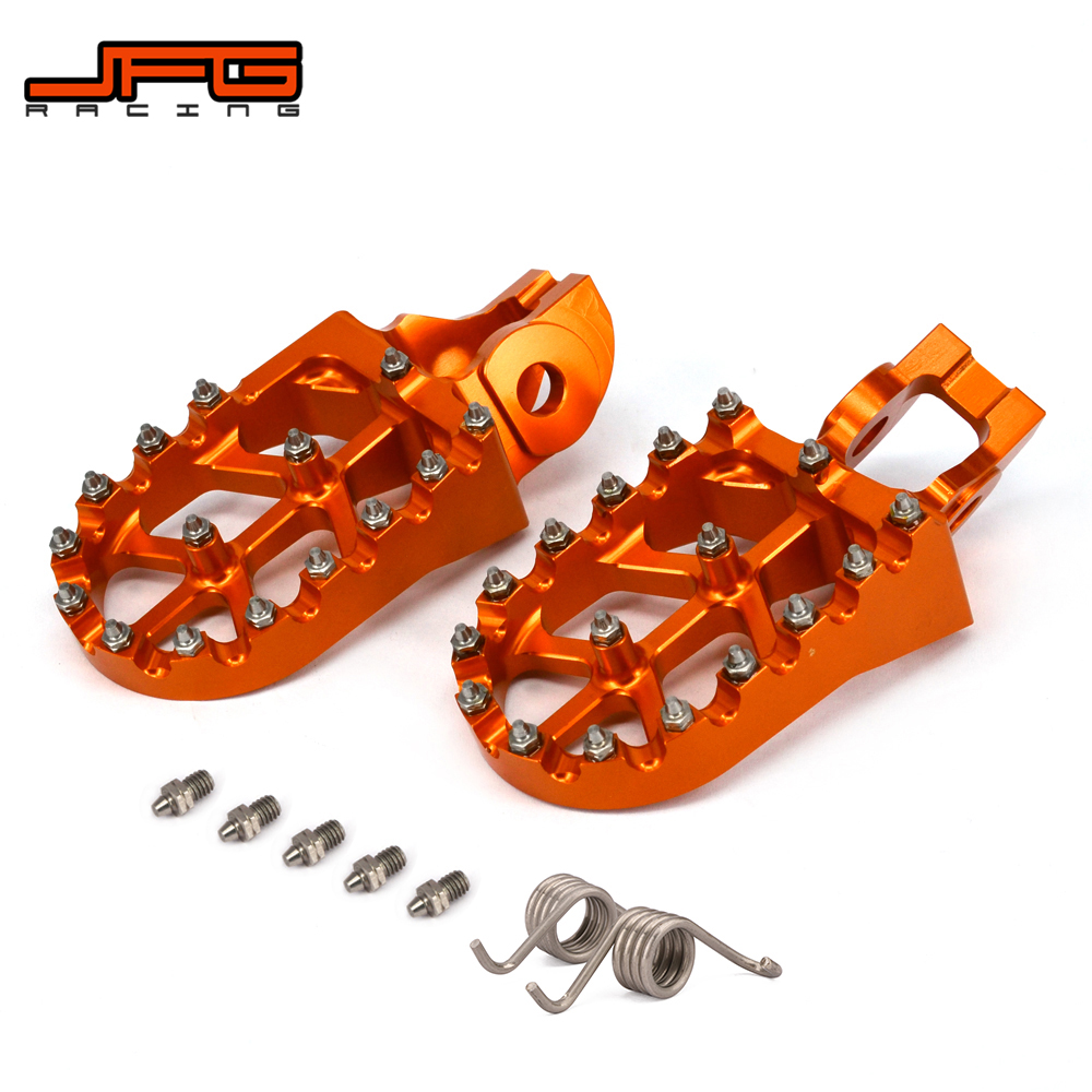 Motorcycle FootRest Footpegs Pedals For KTM 125SX 250-450SX-F 250SX 250-500 EXC EXC-F 150-300XC 250XC-F 350-450XC-F 125-300XC-W