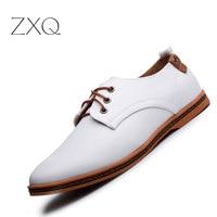 Hot Sale New Oxford Shoes For Men Fashion Men Leather Shoes Autumn Men Casual Flat Patent