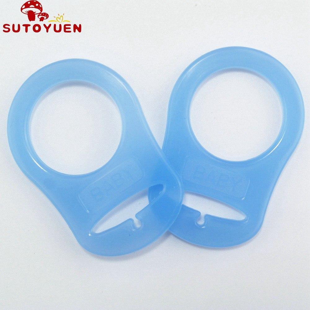 10Pcs bébé Sucette Adapter Ring Holder S pour MAM Dummy Anneaux Serviette