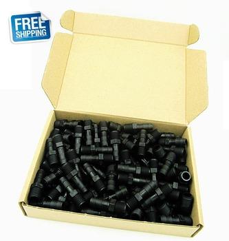 Darmowa dostawa!! Czyszczenie magazynu wyprzedaż 120 szt Pakiet OGO Black Direct Connection NPT 1 4 #8222 * 3 8 #8221 Tube bar tanie i dobre opinie OGO-D1 4x3 8 Nylon NPT 1 4 3 8