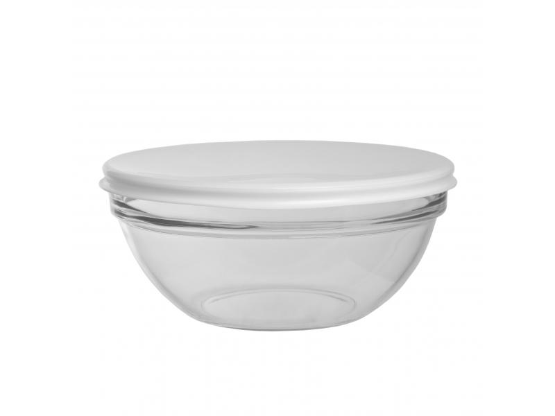 Салатник Luminarc, Empilable, 17 см, белая крышка салатник luminarc empilable 14 см