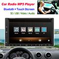 "Free Shipping 2DIN 7"" screen Support Rear Camera Car Stereo MP4 Player 12V Car MP5 Audio Bluetooth/hands free/USB/Remote Control"
