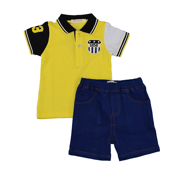 New Summer 3-8Y Baby Children Boys Striped T-shirts Kids Tops Sports Tee