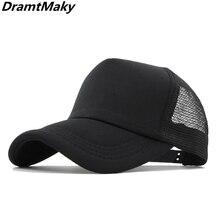 16 colors Baseball Caps Men Women's cap male Snapback Hip Hop Hat dad hat Summer Breathable Mesh Gorras Unisex Streetwear Bone
