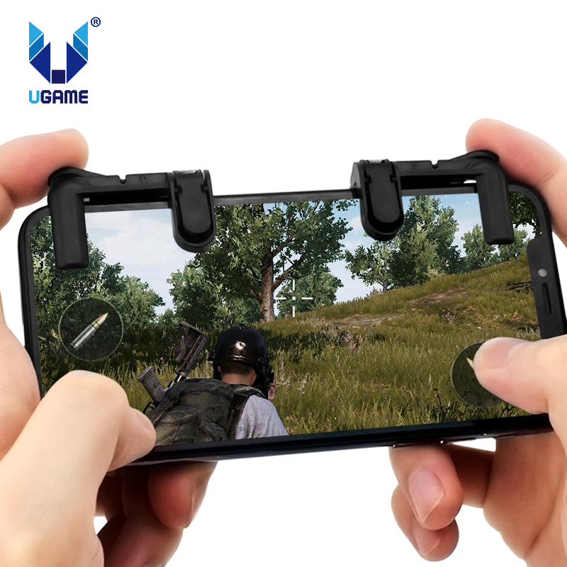 Universal Game Mobile Trigger Game Button Aim Key L1 R1 Mobile Shooter Controller For Knives Out/Rules of Survival/Critica