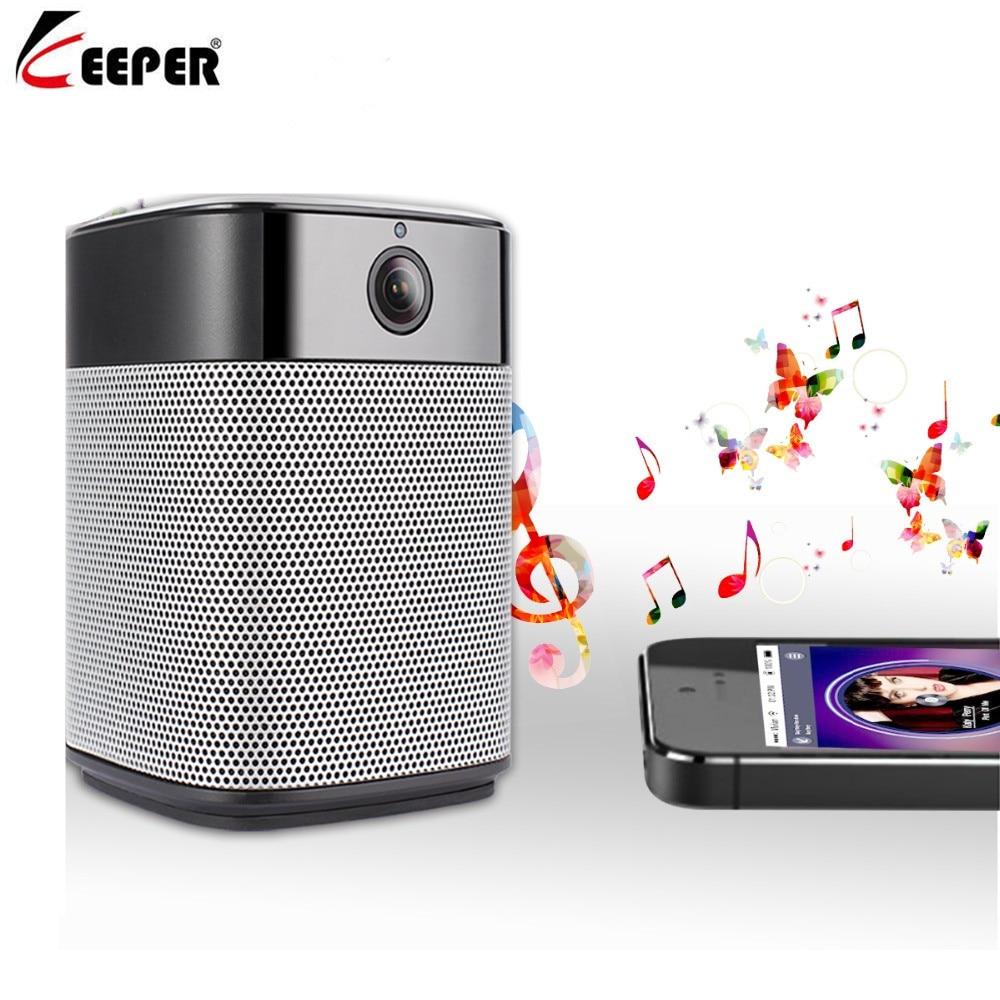 Keeper HD 1080 P mini Wifi IP Camera en Bluetooth Speaker Security Camera met Night Vision Two Way Audio Motion detectie - 3