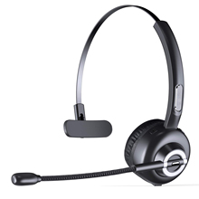M97 Bluetooth Headset Single Track Noise Cancelling Hands-free Wireless Office Headphones with Mic Charging Base For Call Center недорого