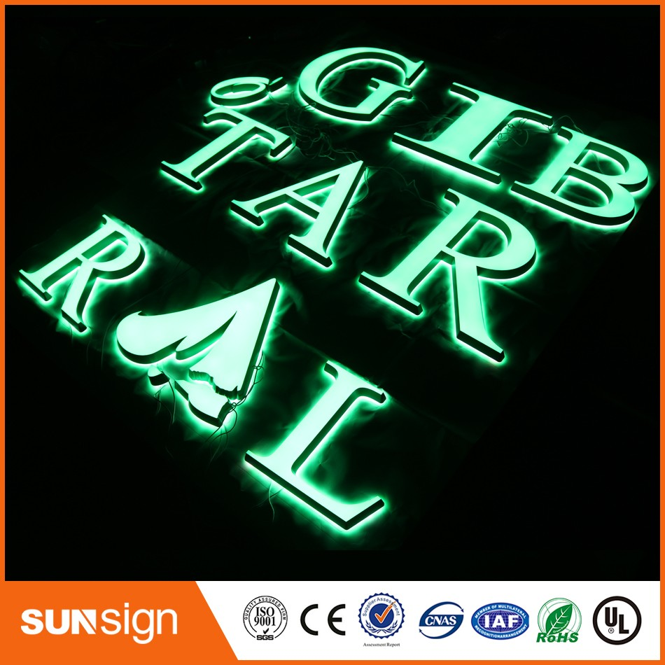 Wholesale Illuminated Acrylic Letters Custom A Letter Light