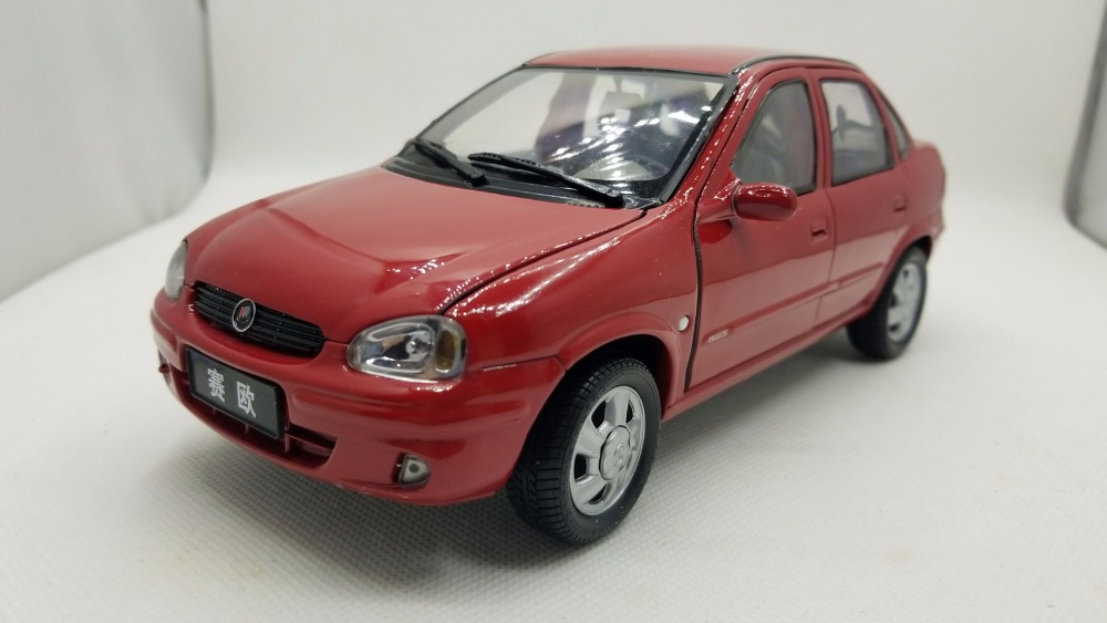 1:18 Diecast Model for GM Buick Sail 2004 Red Sedan (Paint Blister) Rare Alloy Toy Car Miniature Collection Gifts SRV лак для ногтей orly permanent collection 732 цвет 732 snowcone variant hex name 5091cd