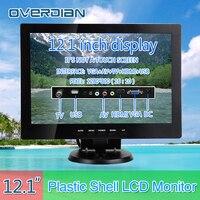 12VGA/HDMI/TV/AV/USB Connector Monitor 1280*800 Song Machine Cash Register Square Screen Monitor/Display Non touch IPS Screen