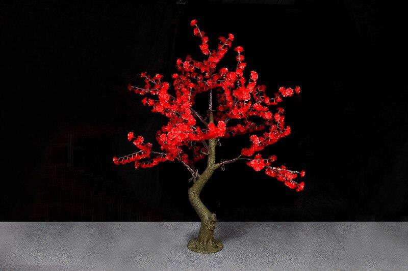 Бесплатная доставка 1.8 м 6ft 768 светодиодов красный цвет светодиода cherry blossom дерево Моделирование Свадебные патио праздник Рождество партии с