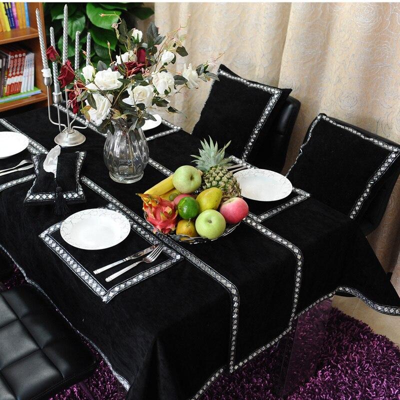 Designer Diamond Embroidery Table Runner Luxury Handmade