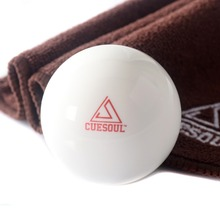 Free Shipping 1pcs Cuesoul Pro Cup Resin 2 1/4 6oz Billiard Cue Ball, Pool Cue Ball, Snooker Cue Ball все цены
