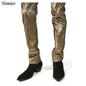 Image 5 - ใหม่คลาสสิกแท้หนังผู้ชายข้อเท้ารองเท้าแฟชั่นฤดูใบไม้ร่วงฤดูหนาวคุณภาพสูงเชลซีรองเท้าแพลตฟอร์มรองเท้า