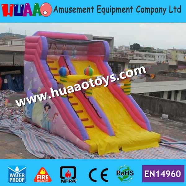 Inflatable Water Slide Repair Kit: 2016 Princess Inflatable Slide With CE Blower And PVC Bag