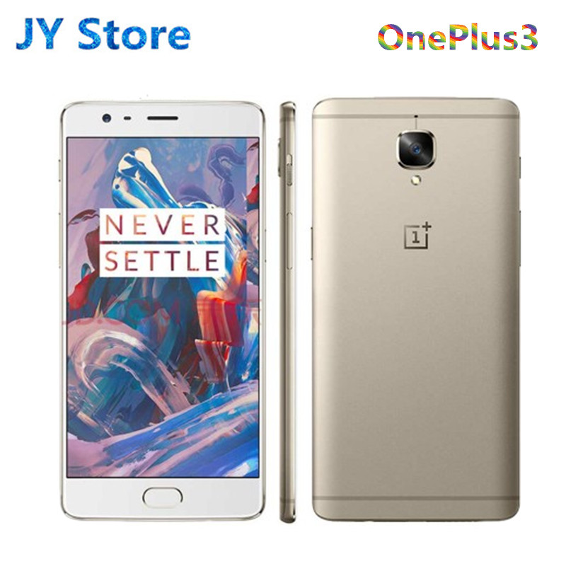 Oneplus Snapdragon 820 Original 3 A3003 64GB LTE/WCDMA/GSM Nfc Dash Charge Quad Core