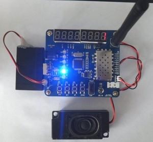 Image 3 - Kit de carte de démonstration de module dinterphone (module de talkie walkie UHF VHF SA818 + haut parleurs + antennes à tige droite)