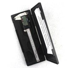 Buy online Electronic Digital Vernier Caliper 150mm Stainless Steel Rule Gauge Micrometer 6 Inch LCD Measuring Ruler Tool With Plastic Box