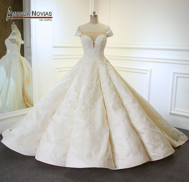 Roben de mariage bustier 2018 Neue Ankunft Boot ausschnitt Royal ...
