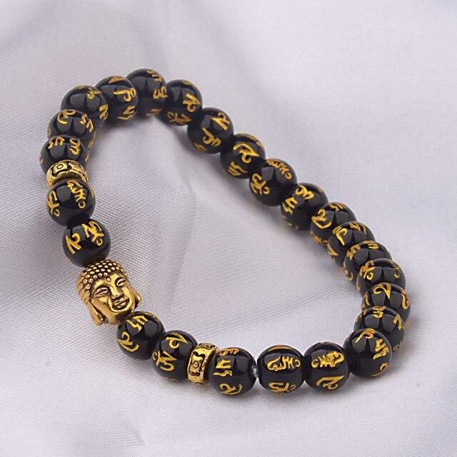 Douvei эластичные буддистские браслеты из бисера для мужчин