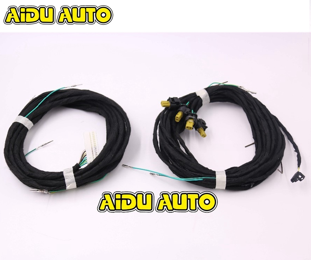 Keyless Entry Kessy system cable Start stop System harness Wire Cable For Audi A6 A7 A8 keyless entry kessy system cable start stop system harness wire cable for vw passat b7 cc