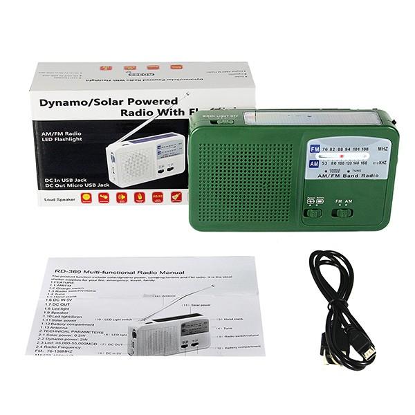 1 pc Dynamo Generator FM  AM Radio (6)