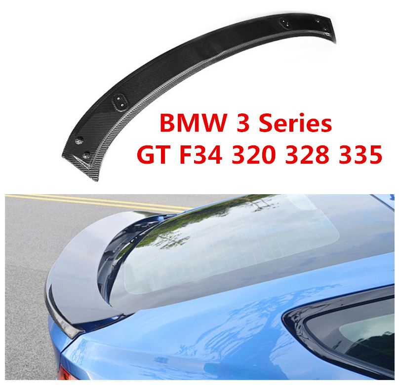 Carbon Fiber Spoiler For BMW 3 Series GT F34 320 328 335