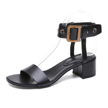 Fashion 2019 Shoes Women Open Toe Sandals Women Summer Shoes High Heels Dress Sandals Heeled  Buckle Strap Gladiator Sandals все цены