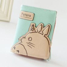 Totoro Small Leather Wallet