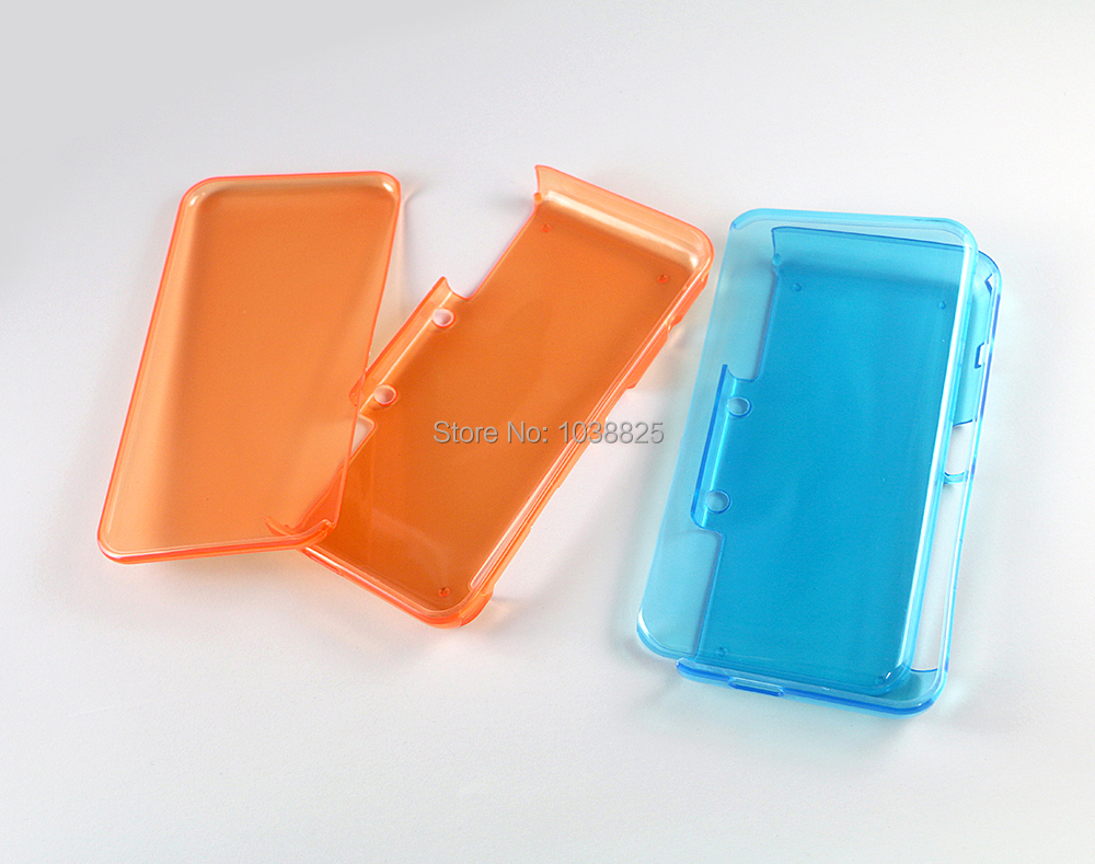 For New 2DS XL LL Protective Clear Soft TPU For New 2DSXL Cover Case For 4 Colors Hard Case Cover
