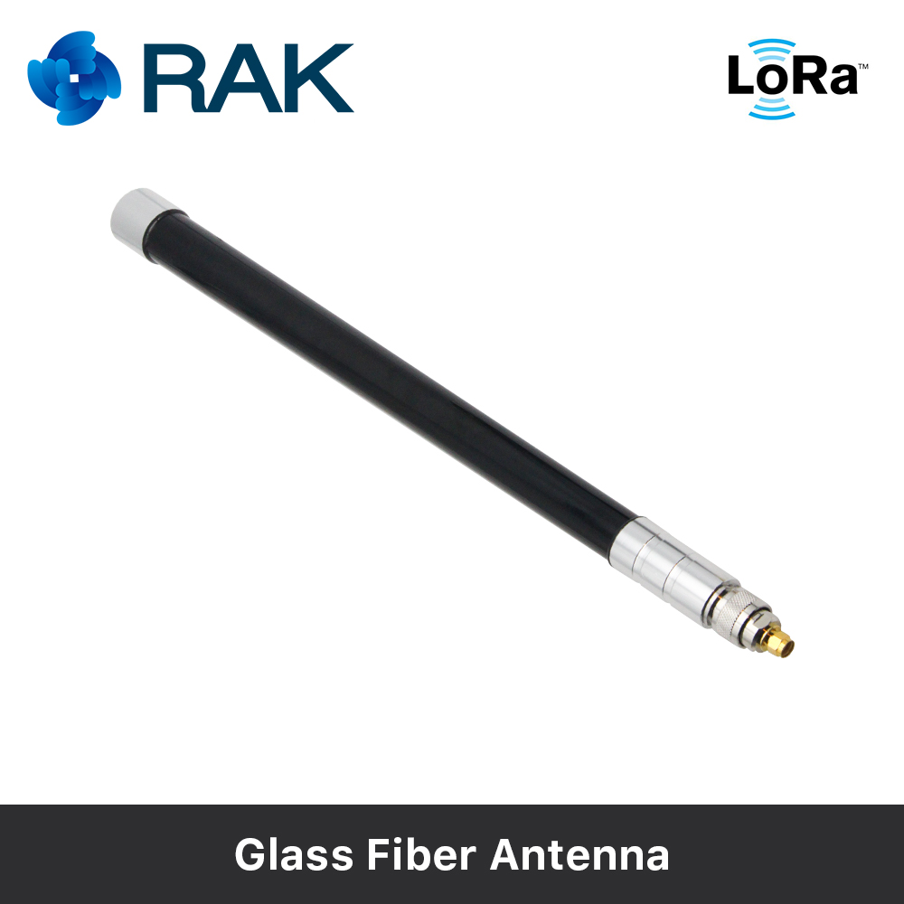 En Fiber De verre Antenne 6dbm Gain LoRa Passerelle Antenne RAK831 Connecter le Câble avec Cravate Ligne, mâle/Femelle Connecteur 433/470/868/915 mhz